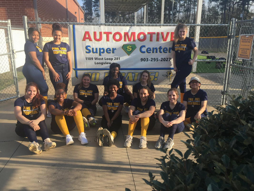 Lady Pirates want to thank Automotive Super Center for supporting our program.